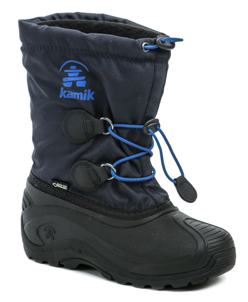 KAMIK INSIGHT GTX modre detské zimné snehule Gore-Tex EUR 33/34