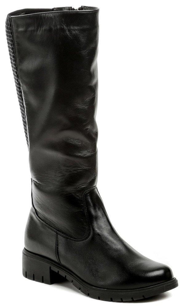 Mintaka 82677-6 čierne dámske kozačky EUR 38