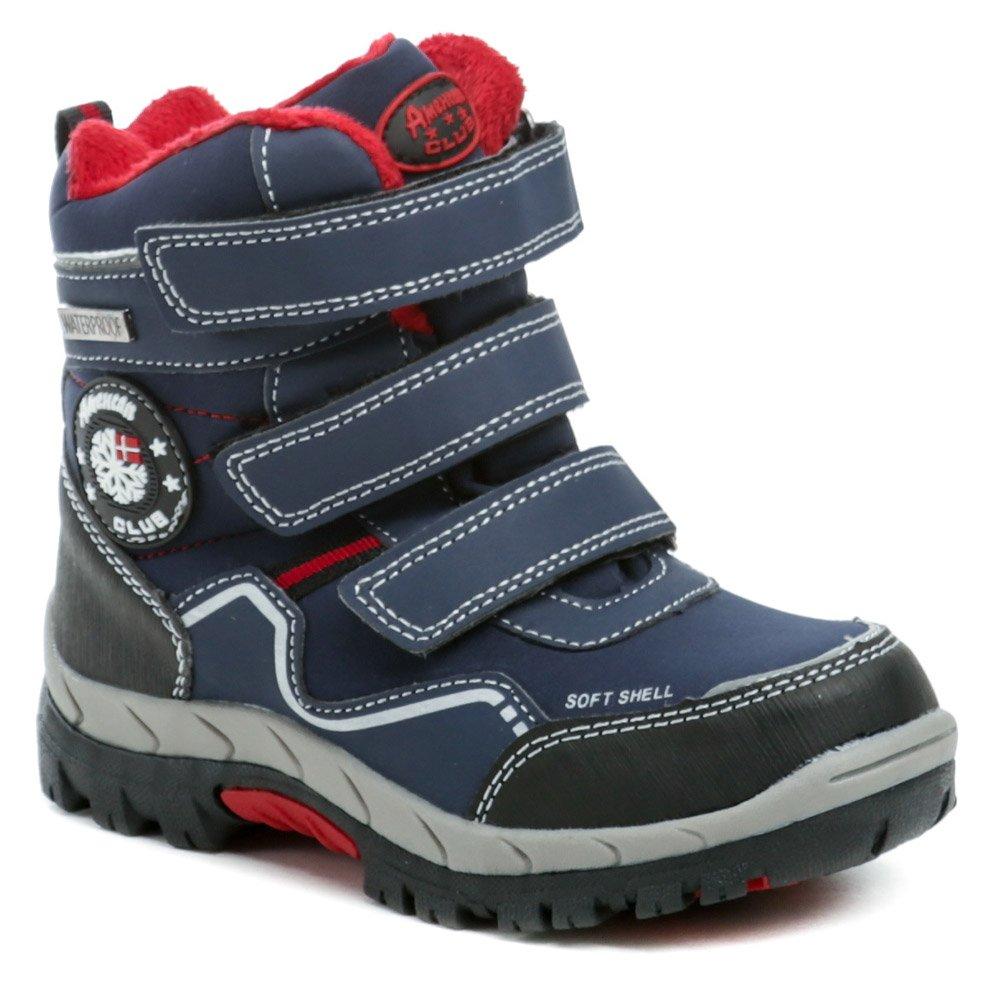 American Club HL19-19 modré detské zimné topánky EUR 27