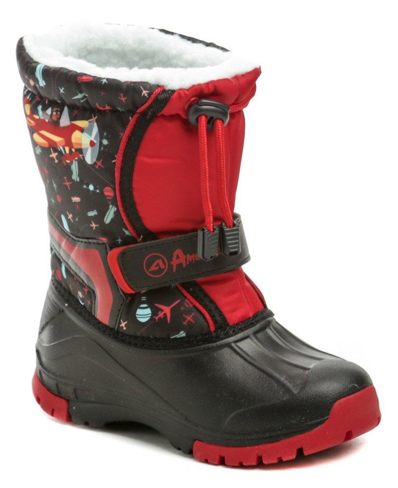 American Club 05-19 čierno červene detské snehule EUR 33