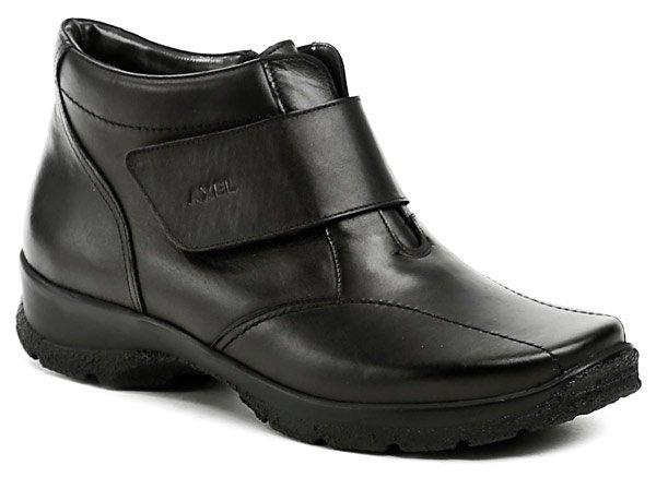 Axel AXBW092 čierne dámske zimné topánky šírka H EUR 41