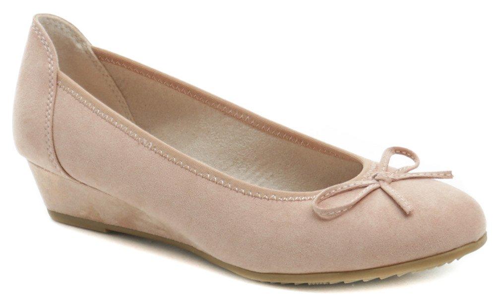 Jana 8-22263-24 ružové dámské baleríny šírka H EUR 37