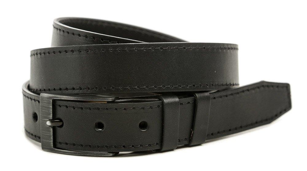Black Hand 013-98 pánsky čierny kožený opasok šírka 32 mm EUR 115