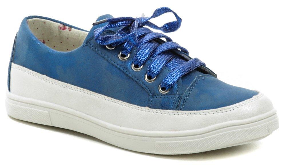 Wojtylko 2220 modré dievčenské poltopánky EUR 32