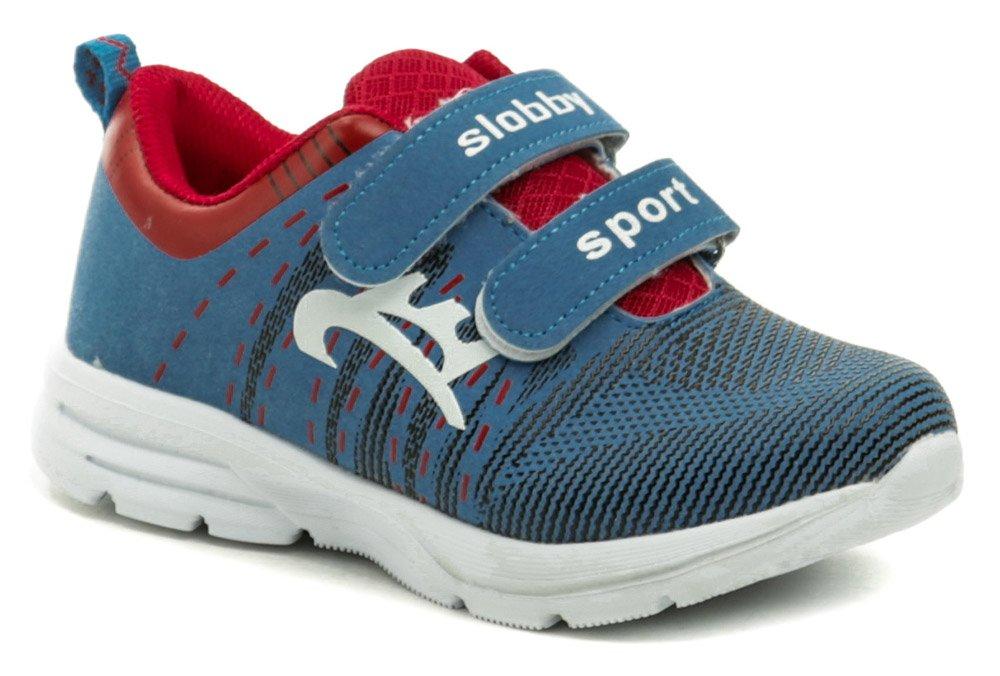 Slobby 47-0168-S1 modro červené detské tenisky EUR 30