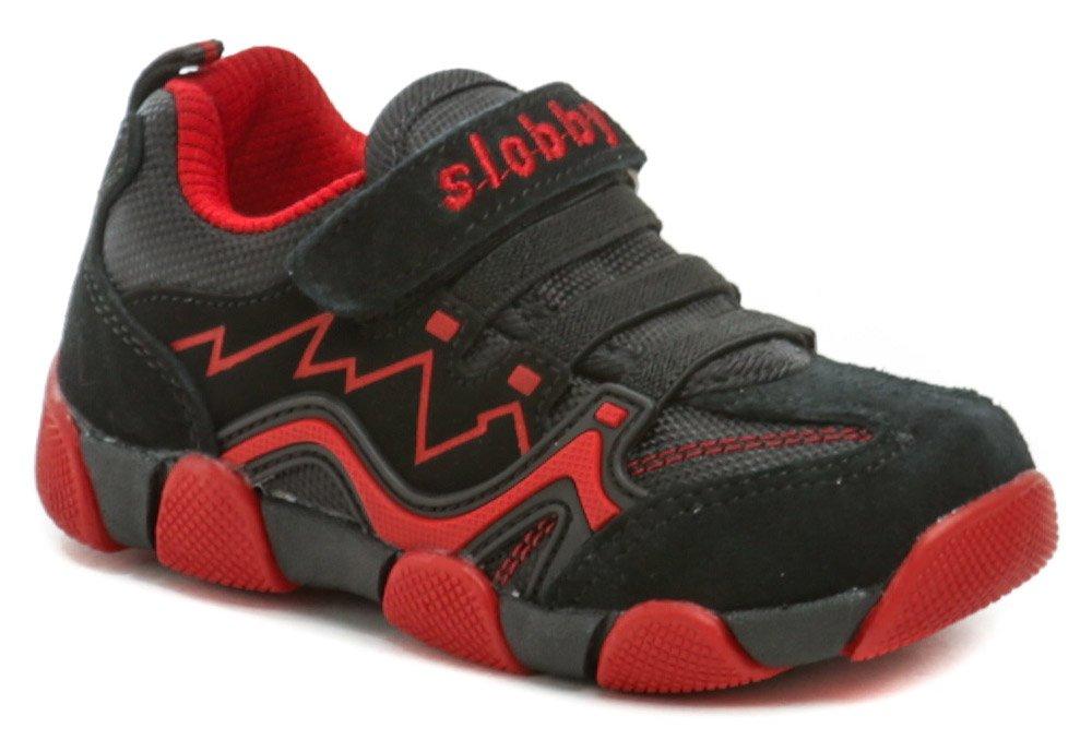 Slobby 47-0164-S1 čierno červené detské tenisky EUR 28