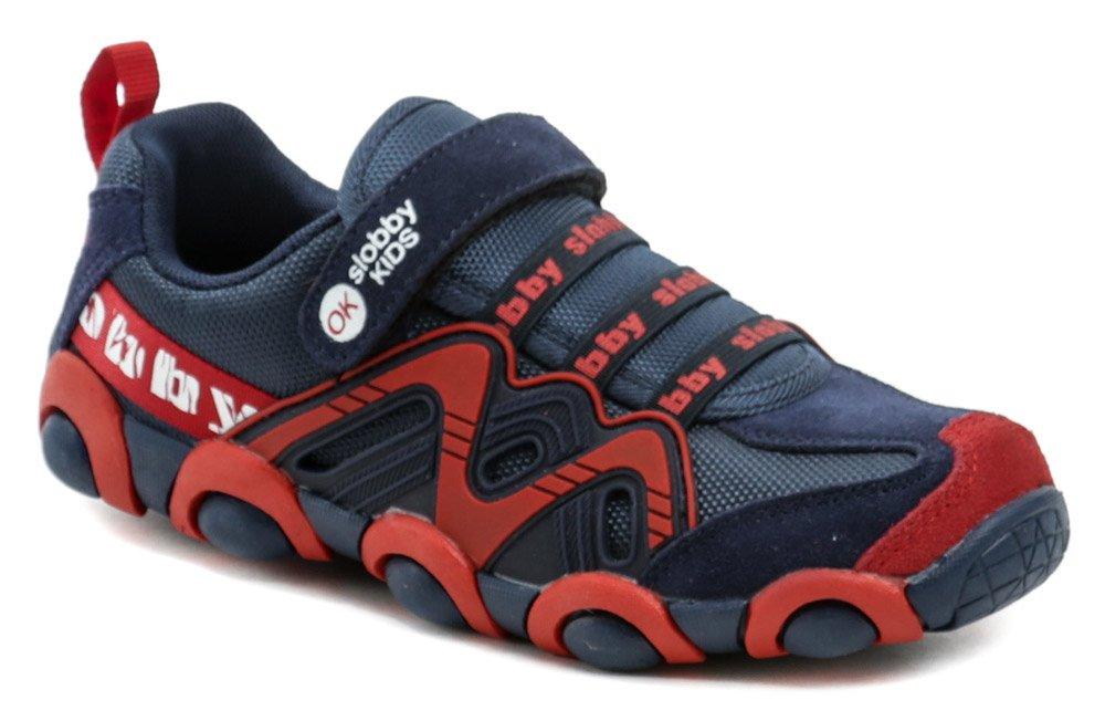 Slobby 172-0013-S1 modro červené detské tenisky EUR 31