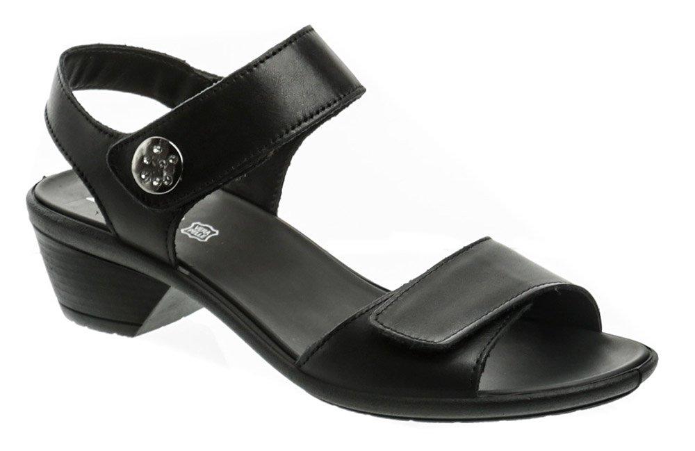 IMAC 167980 čierne dámske sandále na podpätku EUR 37