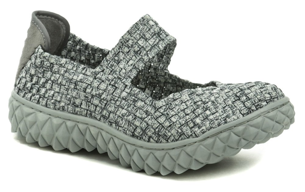 Rock Spring OVER čierno šedá dámska gumičková obuv EUR 39