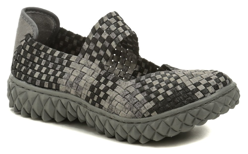 Rock Spring OVER šedo čierna dámska gumičková obuv EUR 41