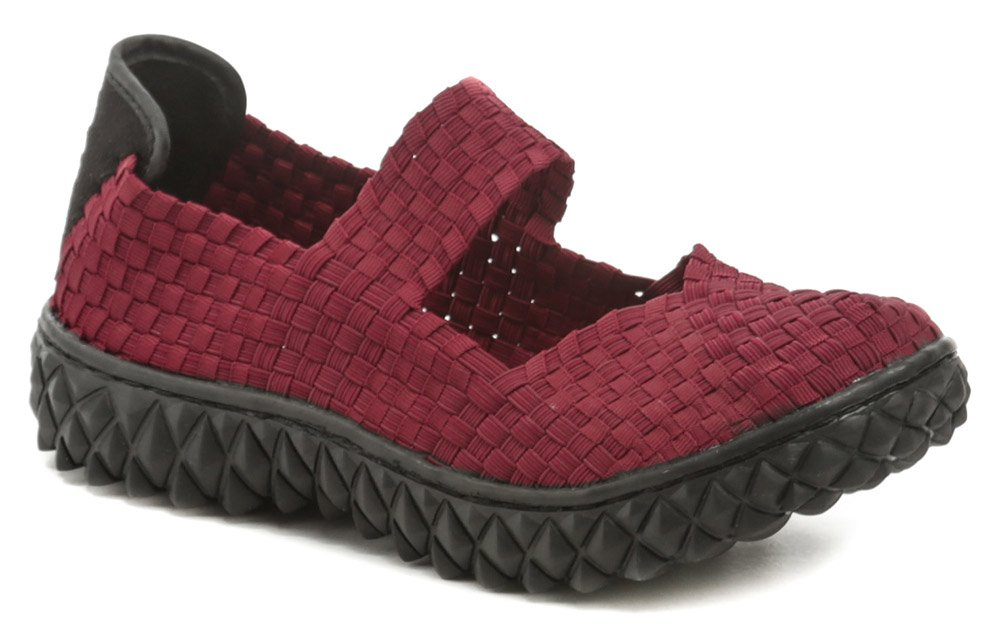 Rock Spring OVER bordová dámska gumičková obuv EUR 39