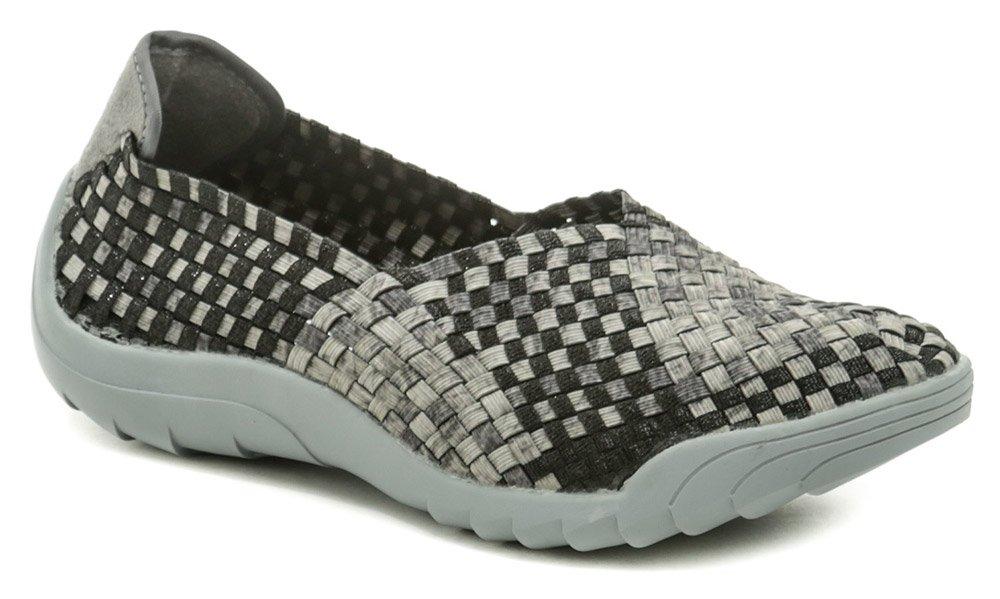 Rock Spring INOKO šedo čierna dámska obuv z gumičiek EUR 38