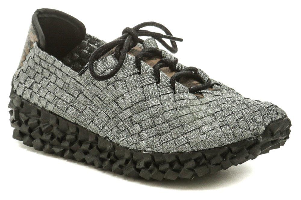 Rock Spring DURBAN strieborná dámska obuv z gumičiek EUR 39