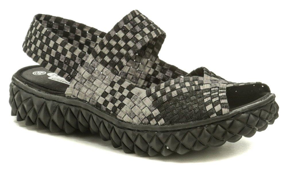 Rock Spring SOFIA čierno béžová dámska obuv z gumičiek EUR 37