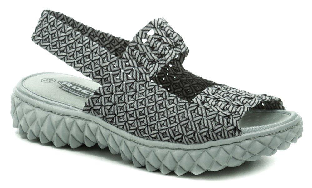 Rock Spring TROPICANA šedá dámska obuv z gumičiek EUR 37