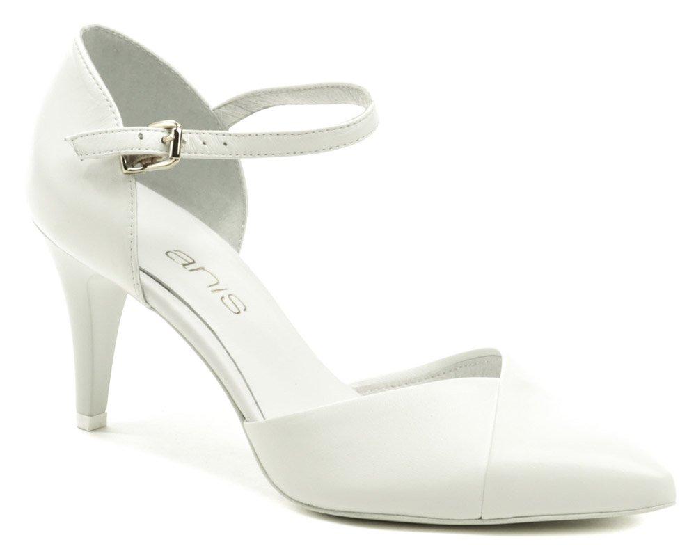 Anis AN4435 biela dámska svadobné obuv EUR 41