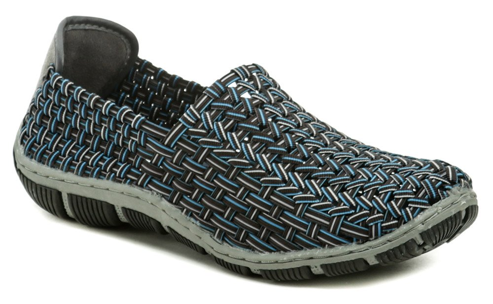 Rock Spring CAPE HORN Black Aqua dámska gumičková obuv EUR 36