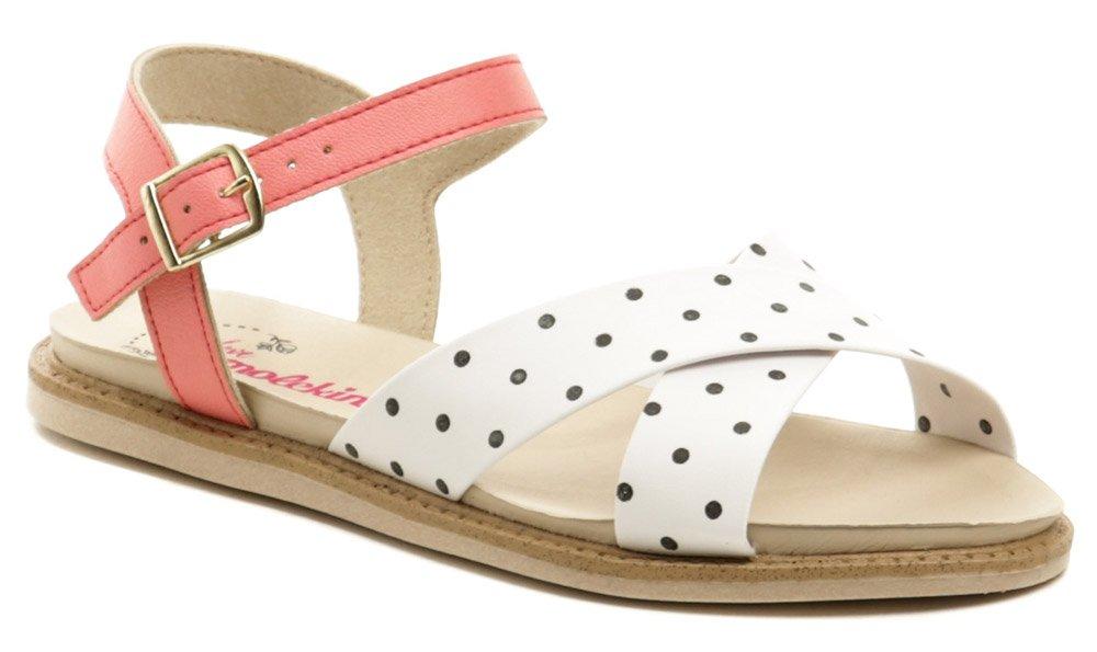Molekinha 2312-422 bielo ružové detské sandále EUR 30