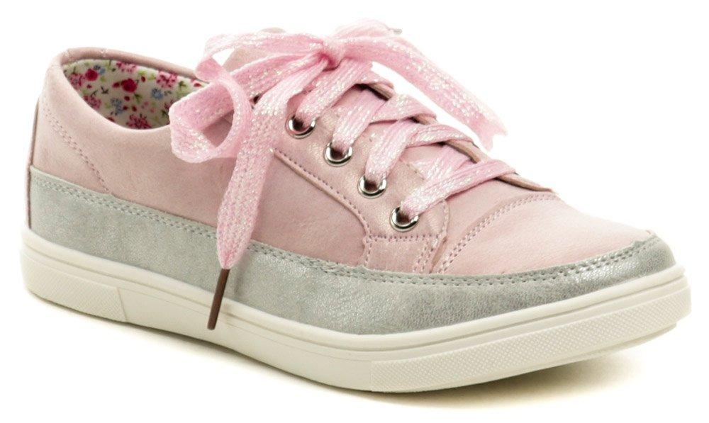 Wojtylko 3BA1019 ružové dievčenské poltopánky EUR 30