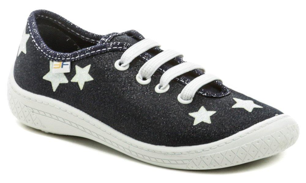 3F detské modré tenisky s hviezdami 4BL14-7 EUR 30
