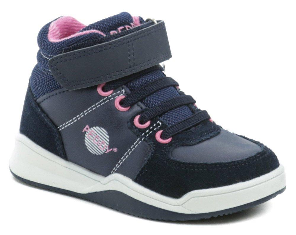Peddy P3-536-37-18 modro ružové detské topánky EUR 35
