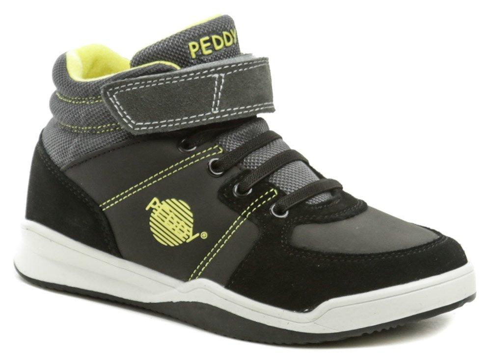 Peddy P3-536-32-18 čierne detské topánky EUR 34