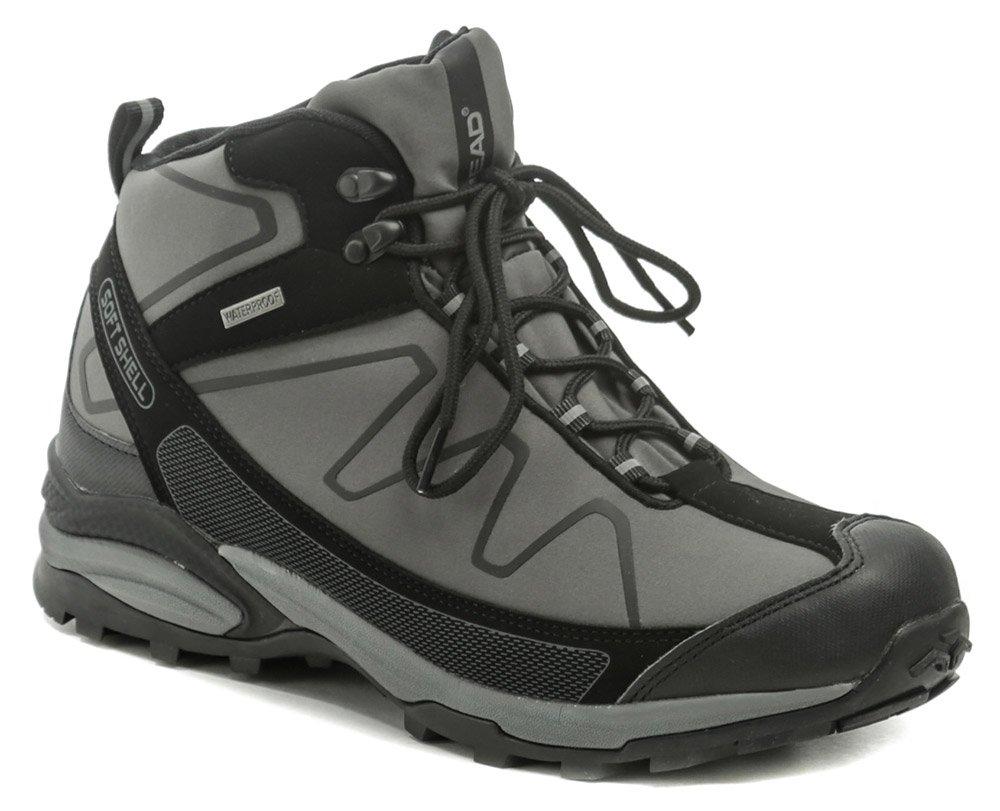 Head H3-109-26-13 čierno šedé pánske trekingové topánky EUR 43