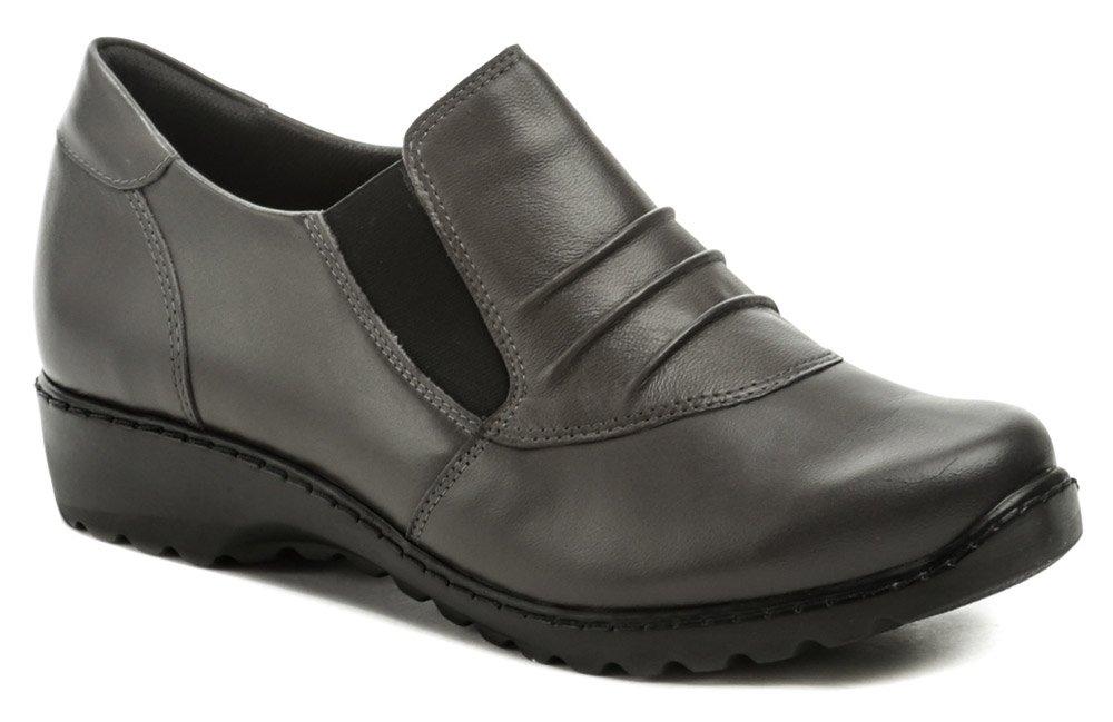 Axel AXCW111 šedé dámske poltopánky topánky EUR 38