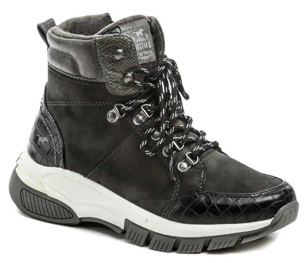 Mustang 1367-502-20 čierna dámska zimná obuv EUR 41