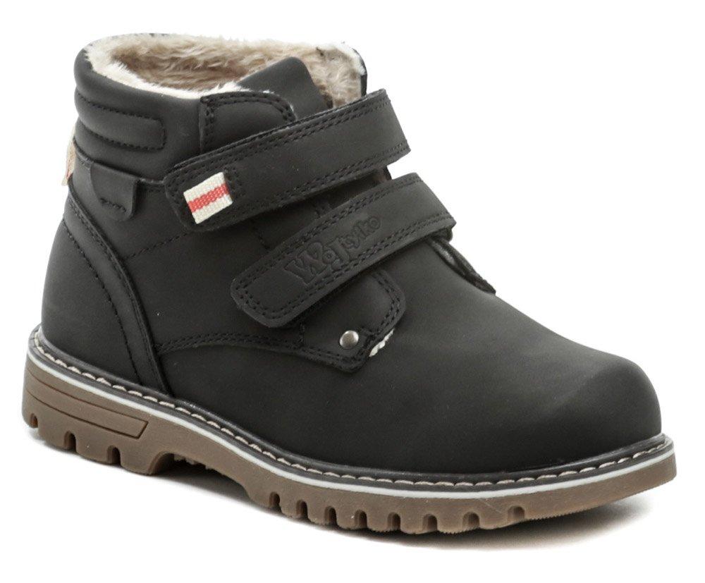 Wojtylko 3Z1320 čierne detské členkové topánky EUR 30