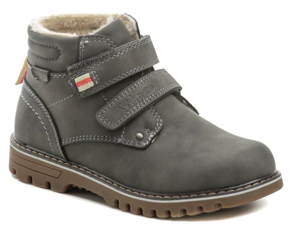 Wojtylko 3Z1320 šedé detské členkové topánky EUR 30