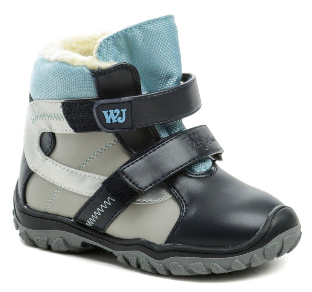 Wojtylko 2Z20088 modré detské zimné topánky EUR 25