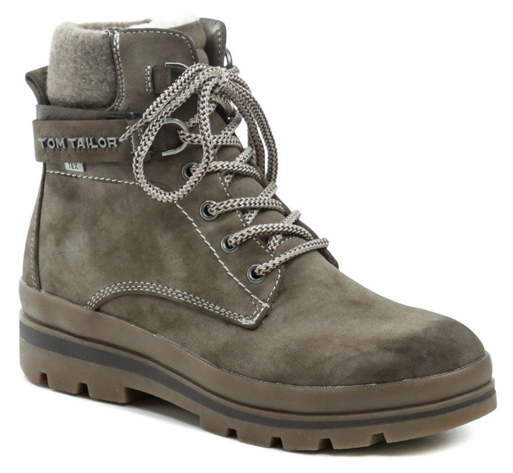 Tom Tailor 9090701 taupe zimné dámske topánky EUR 40