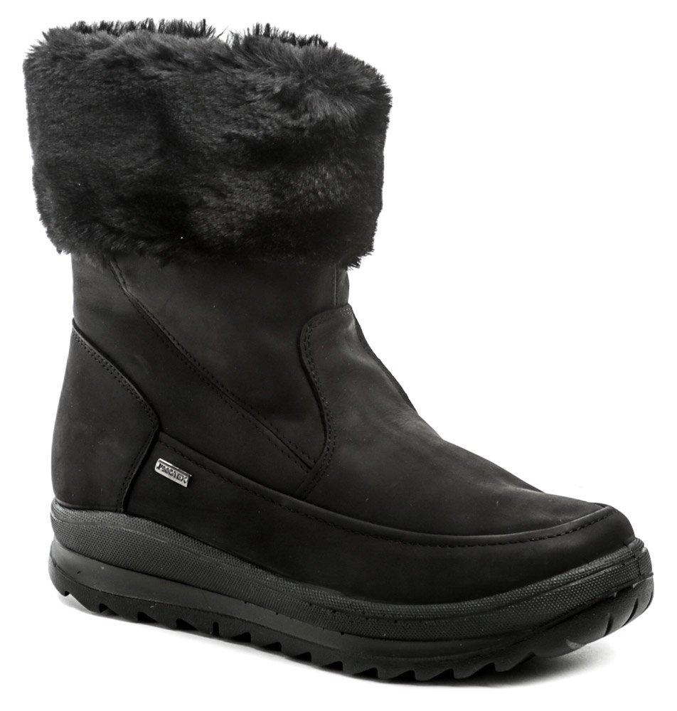 IMAC 609338 čierne zimné dámske topánky EUR 39
