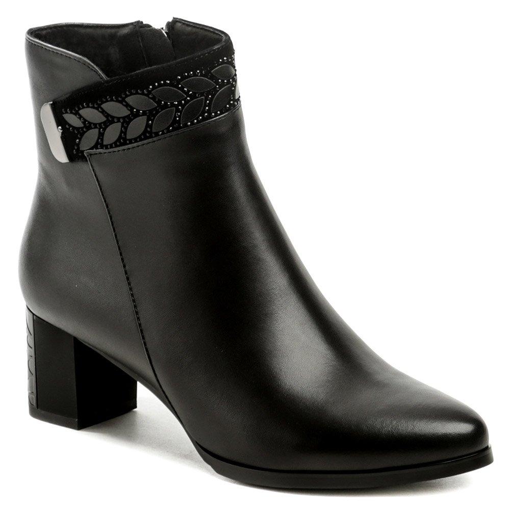 Ladies DA241 čierne dámske členkové topánky EUR 38