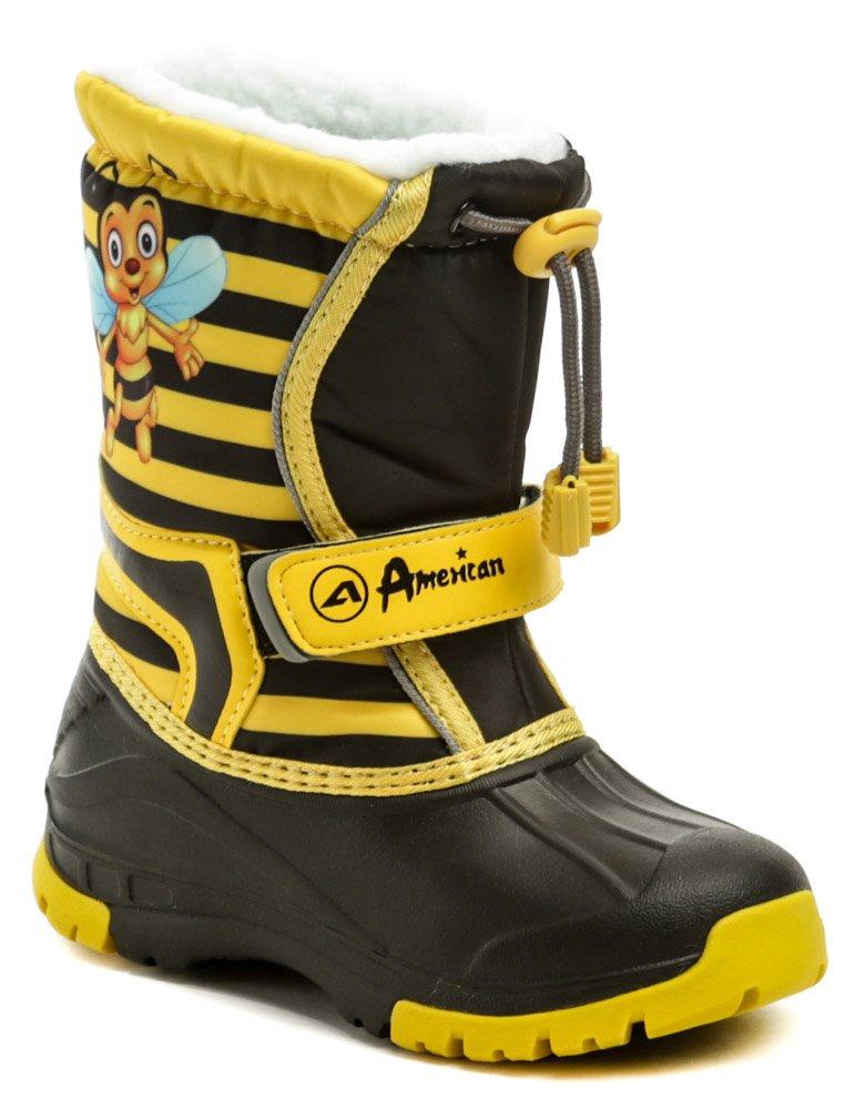 American Club CL08-19 čierno žlté detské snehule EUR 27