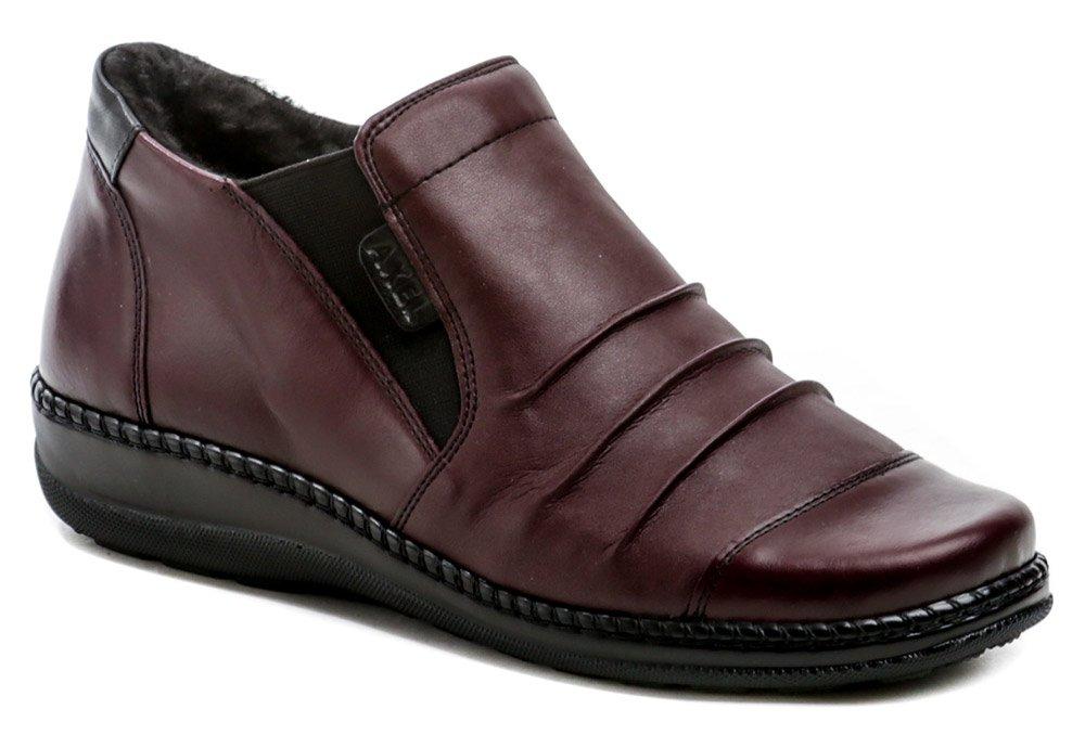Axel AX1735 bordó dámske zimné topánky šírka H EUR 39