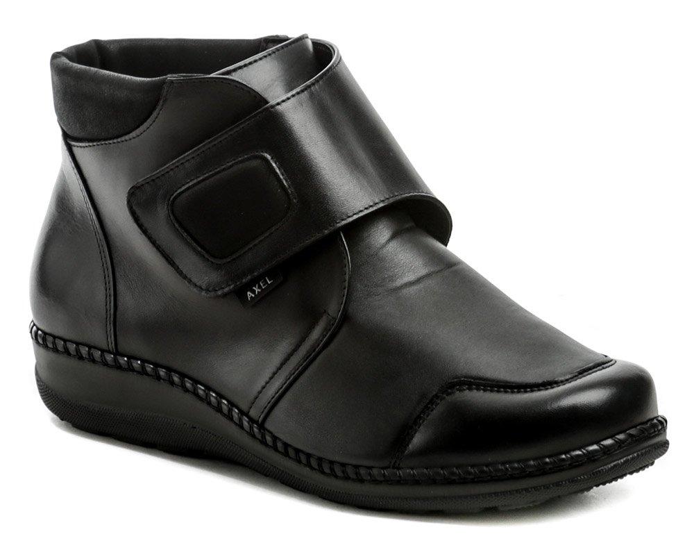 Axel AX1726 čierne dámske zimné topánky topánky šírka H EUR 40