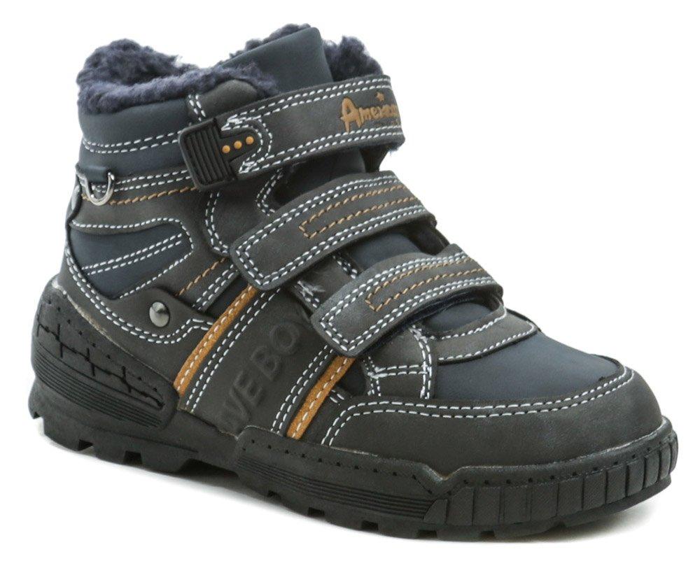 American Club ES51-19 modré detské zimné topánky EUR 27