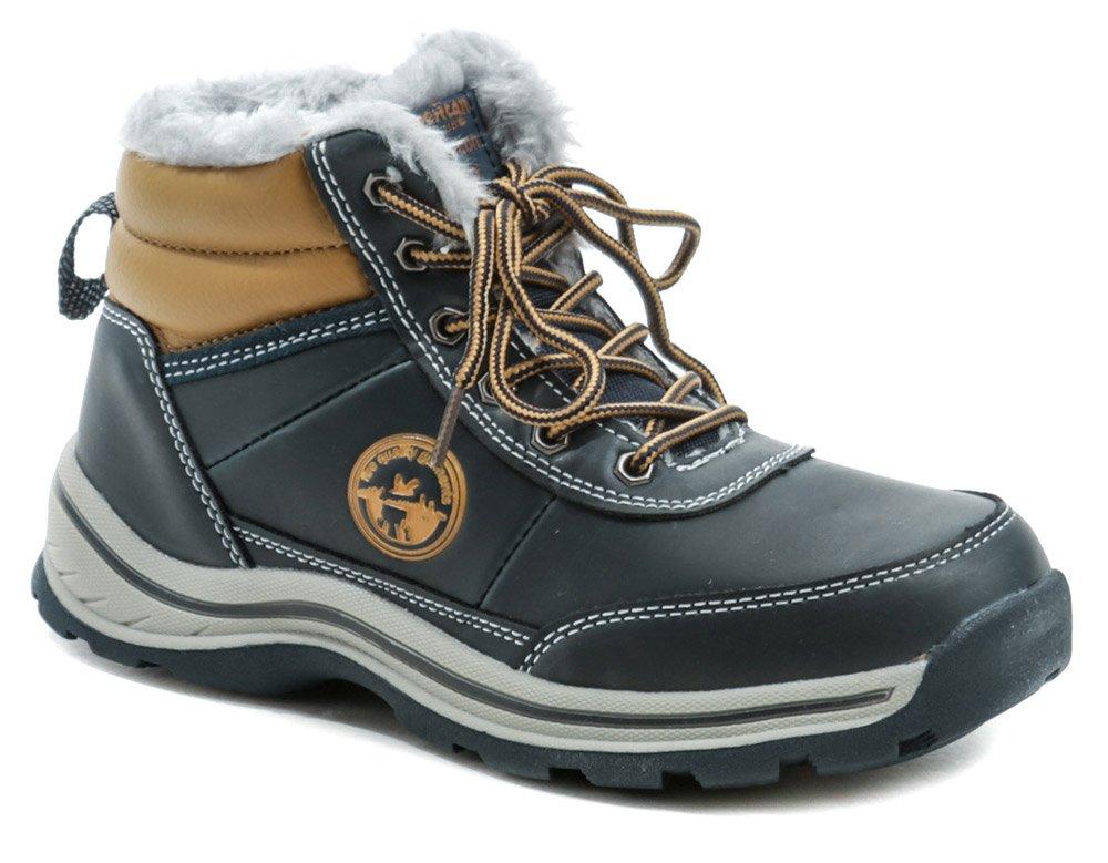 American Club ES46-19 modré zimné detské topánky EUR 36