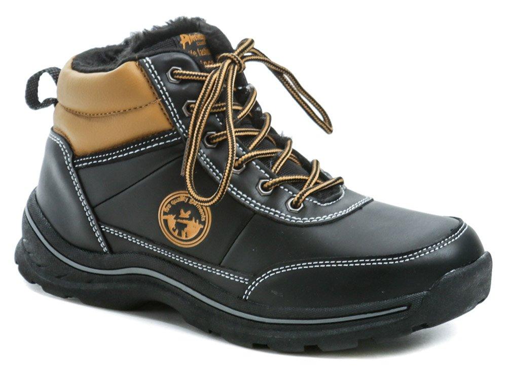 American Club ES46-19 čierne zimné detské topánky EUR 32