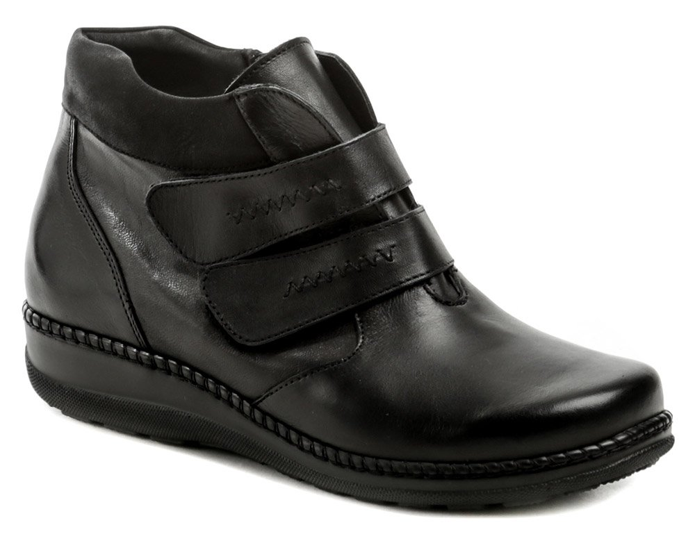 Axel AX4379 čierne dámske zimné topánky šírka H EUR 37