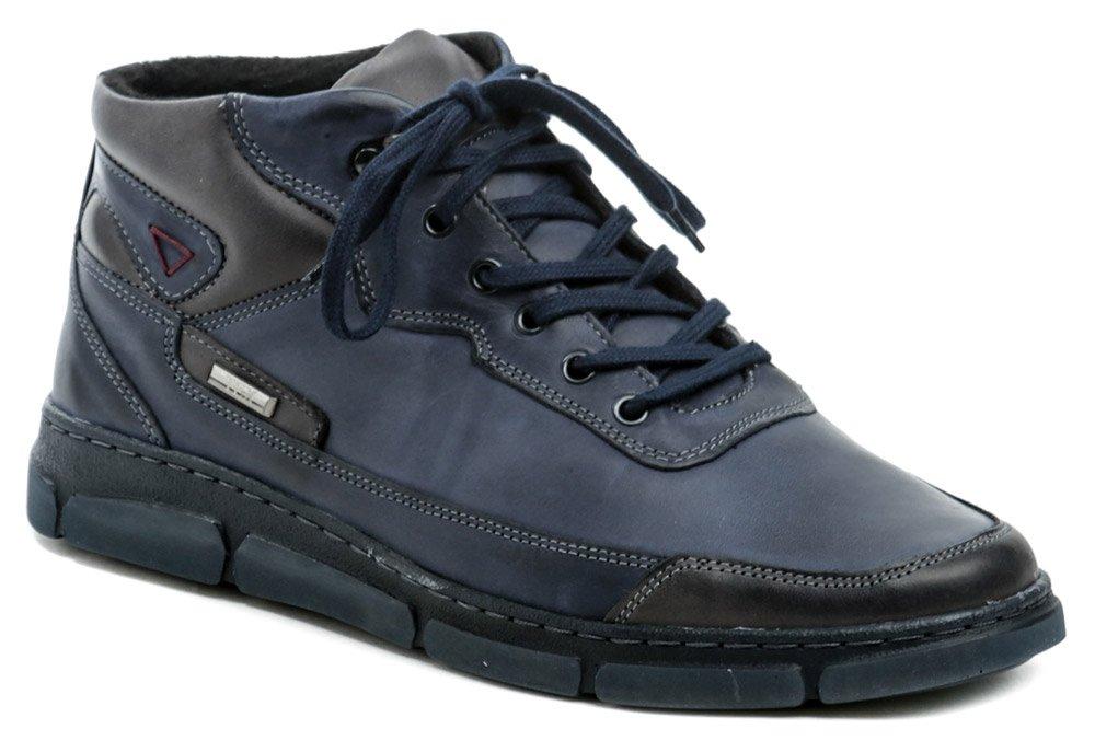 Mateos 924 modrá pánska zimná obuv EUR 41