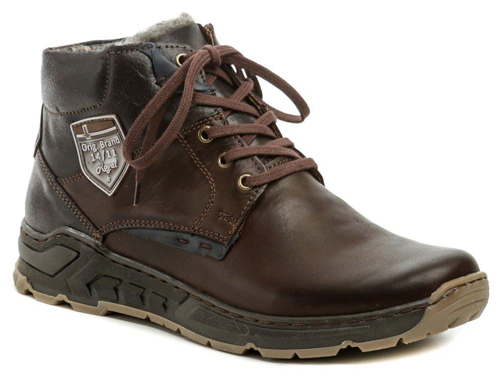 Mateos 874 hnedá pánska zimná obuv EUR 41