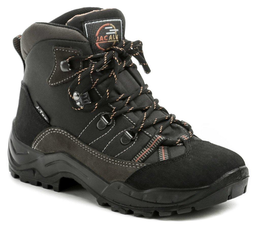 Jacalu A2706-41 šedé dámske zimné trackingové topánky EUR 38