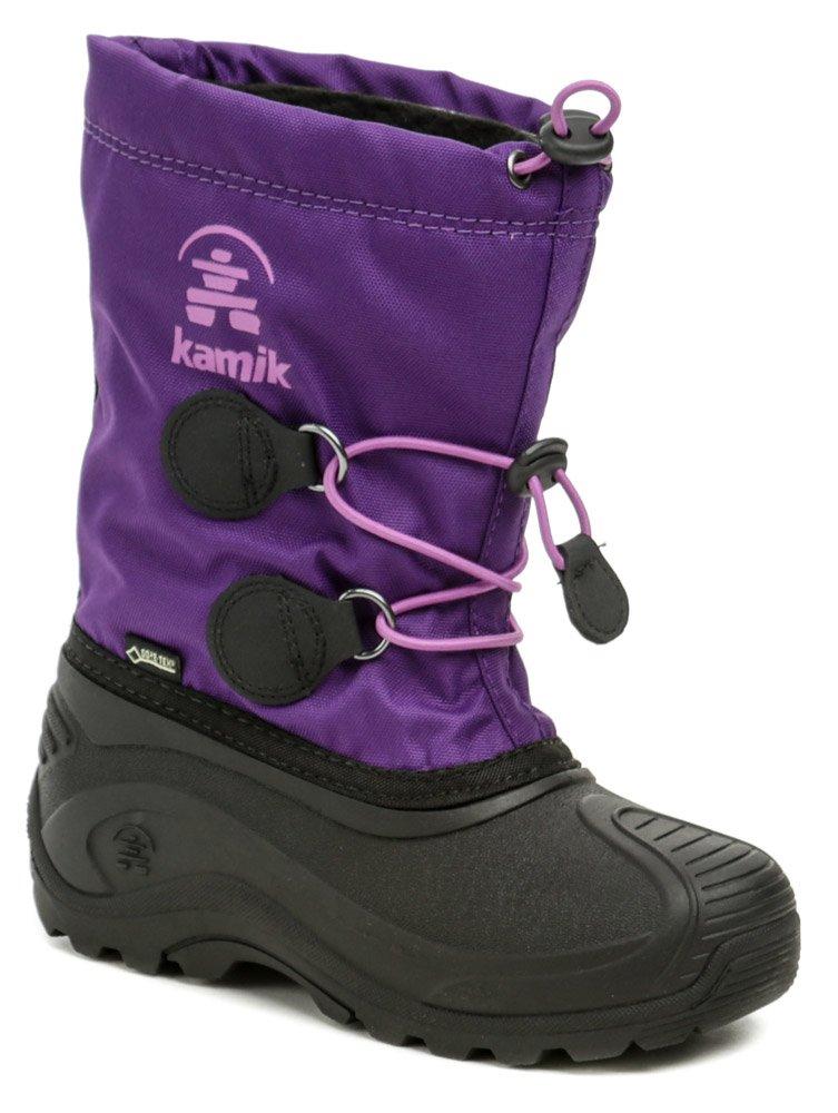 KAMIK INSIGHT GTX purple detské zimné snehule Gore-Tex EUR 32