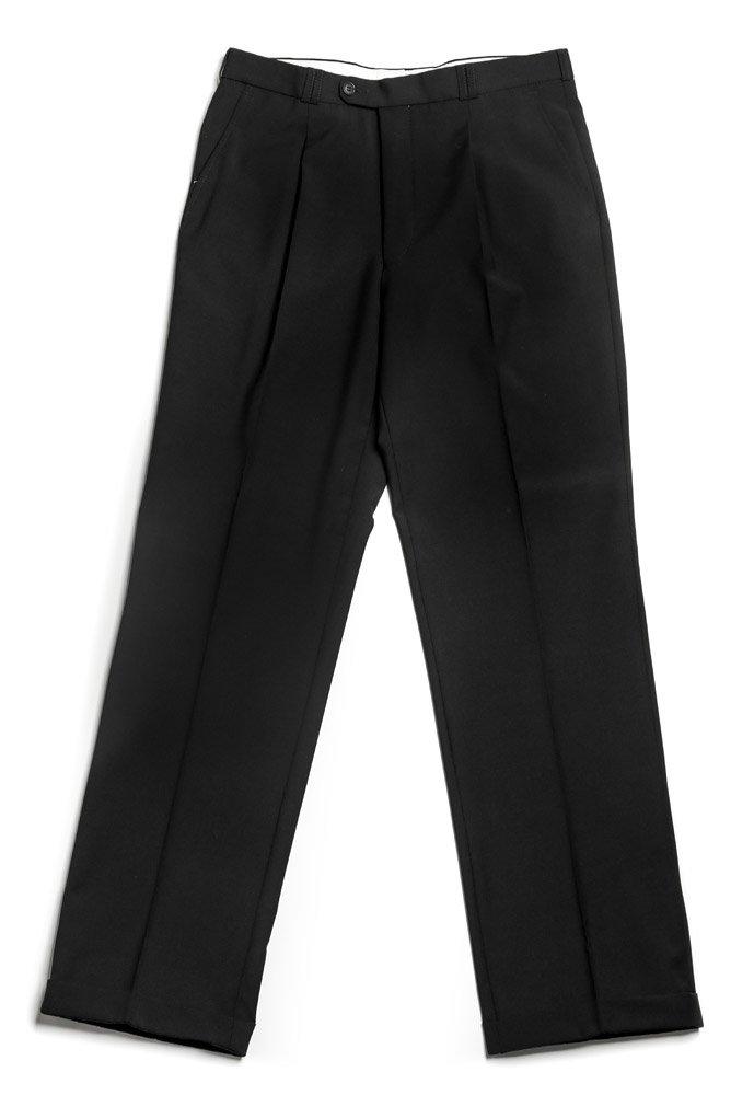 Veltex Petr čierne pánske nohavice sa sámkom EUR 188/88