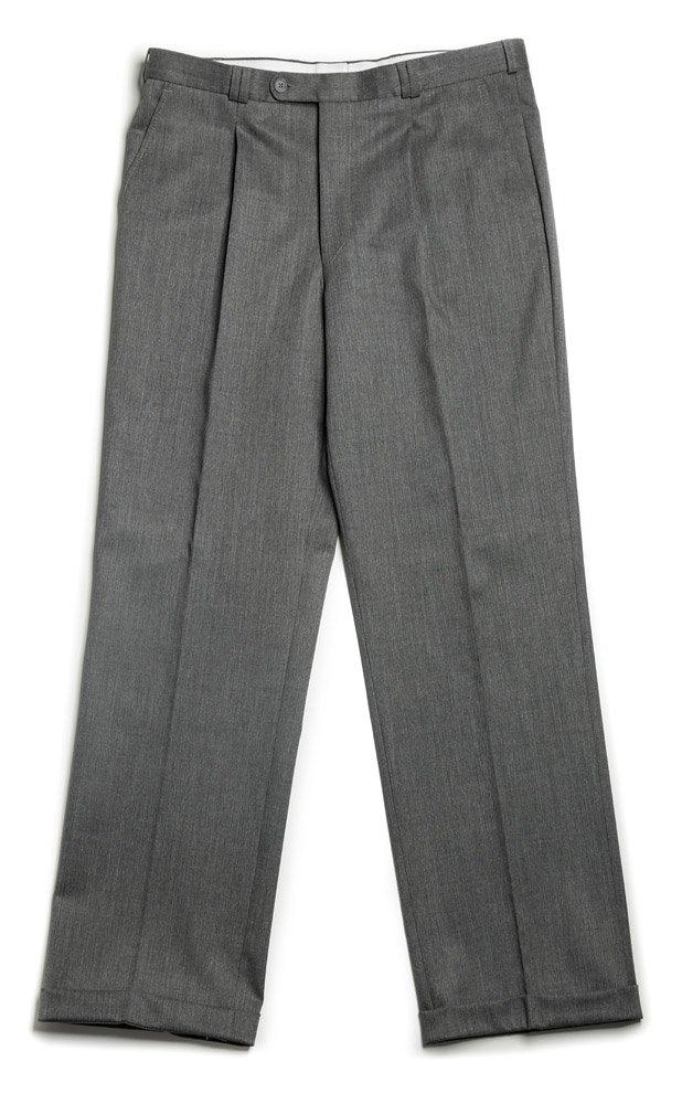 Veltex Petr šedé pánske nohavice sa sámkom EUR 176/102