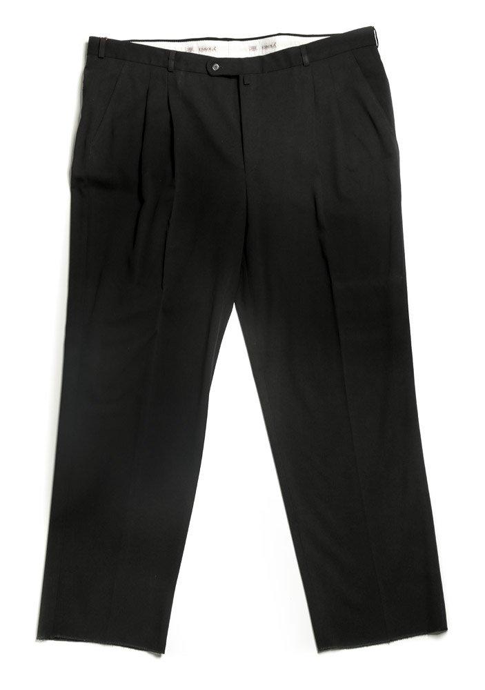 Escola čierne pánske nohavice sa sámkom EUR 44