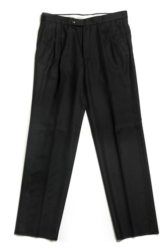 Escola čierne pánske nohavice sa sámkom EUR 48